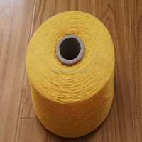 Ne Regenerated/recycled cotton polyester weaving yarn dyed fabric