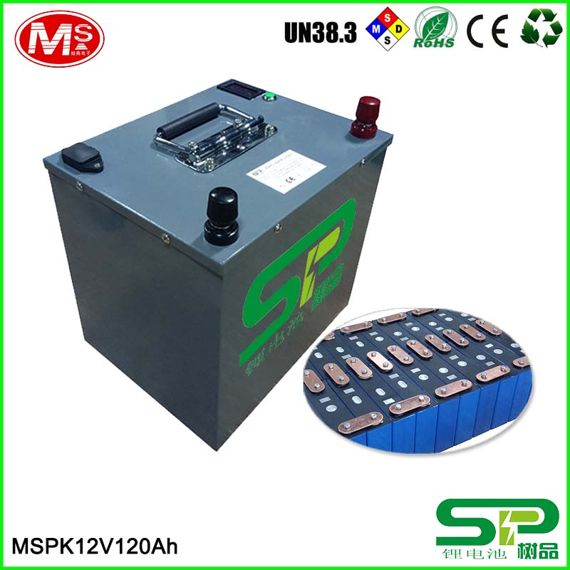 highly effective green power LiFePO4 battery storage 12v 120ah replace lead acid battery