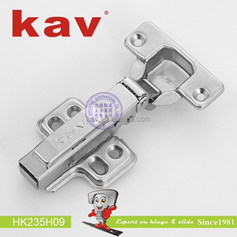 soft close cabinet hinge 105 degree clip on iron damper soft close hinges