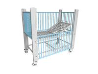 stainless steel children hospital bed for sale