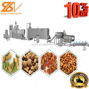 Full-auto pet food production line