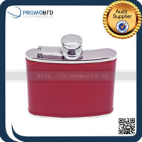 Fashional Leather hip flask