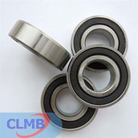 High quality miniature ball bearings with outside rubber Shanghai ChiLin