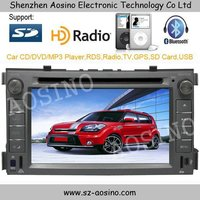 Aosino special KIA SOUL car dvd 6.2'' touch screen with gps ipod