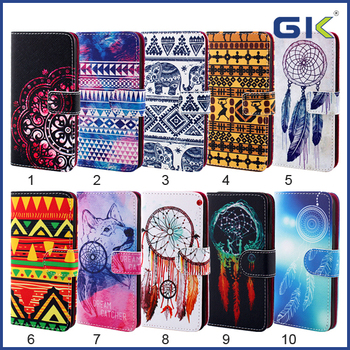 [GGIT] Fashion With Painting Pattern Separable Holster TPU+PU Cover For IPhone 7 Phone Case