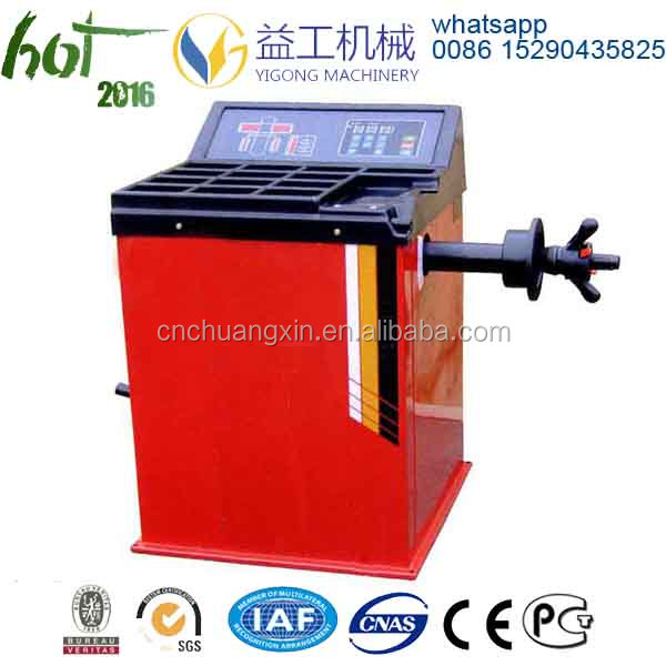 China mobile Manual Wheel balancer
