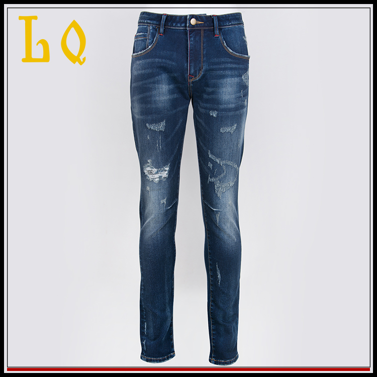 Custom New Design Denim Motorcycle Fabrics Jeans Wear Trousers China