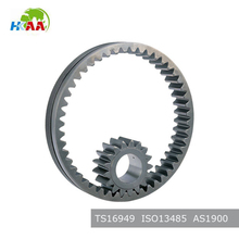 chinese supplier steel Spur Gears steering gear box gear parts