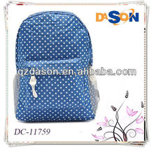 Students Vintage Canvas Printing Backpack School Shoulder Bags travel lightweight bags