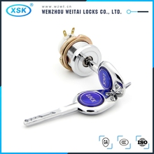 32mm head diameter electronic cylinder top security lock