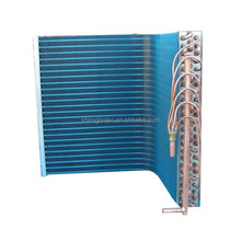 Aluminum freezing custom heat exchanger components