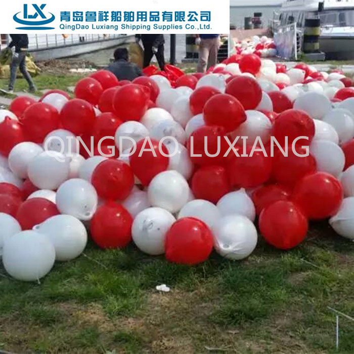 luxiang brand marine inflatable buoy float for fishing