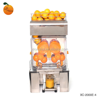 Pomegranate juice extractor machine,machineAutomatic Orange Juicer XC-2000E-4