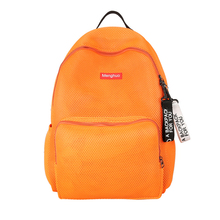 china supplier teens school bags colorful canvas plain color school backpacks