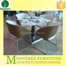 Moontree MDT-1114 china made table and chair restaurant opportunity for sale