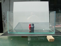 Professional Custom Extra Clear Glass Fish Tank/Aquarium