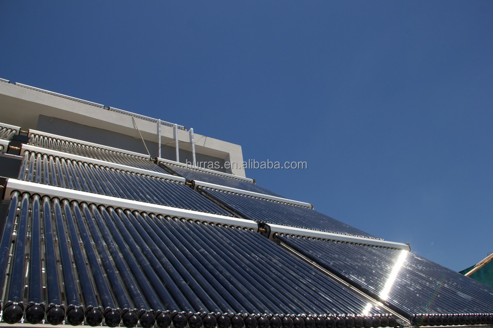 2016 HES New u pipe solar collector for solar thermal or water heating 10tubes to 30 tubes