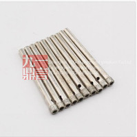 best quality 10pcs/set 4mm diamond drill bit diamond core drill bit for glass marble granite porcelain