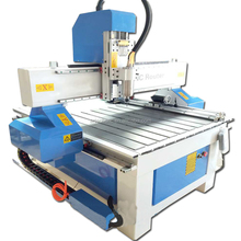 4 axis 9090 cnc milling router machine for wood cutting