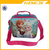 2015 Frozen Lunch Box Carry Bag with Shoulder Strap and Water Bottle