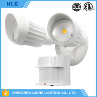 hot selling bridgelux chip cob ip65 led security lamp outdoor motion sensor light