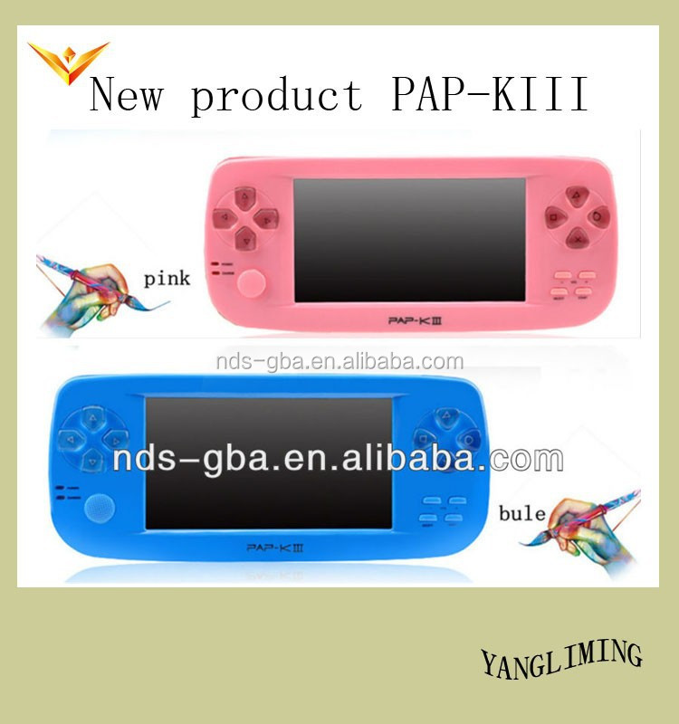 video game console for kids with DV function 3D games PAP-KIII
