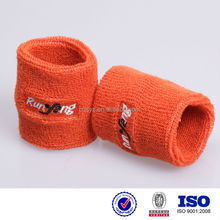 Cheap Knitted Sweatband Custom Cotton snowboard wrist guard