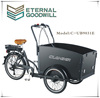 2015 hot sale six speeds electric cargo bike for passenger UB 9031E