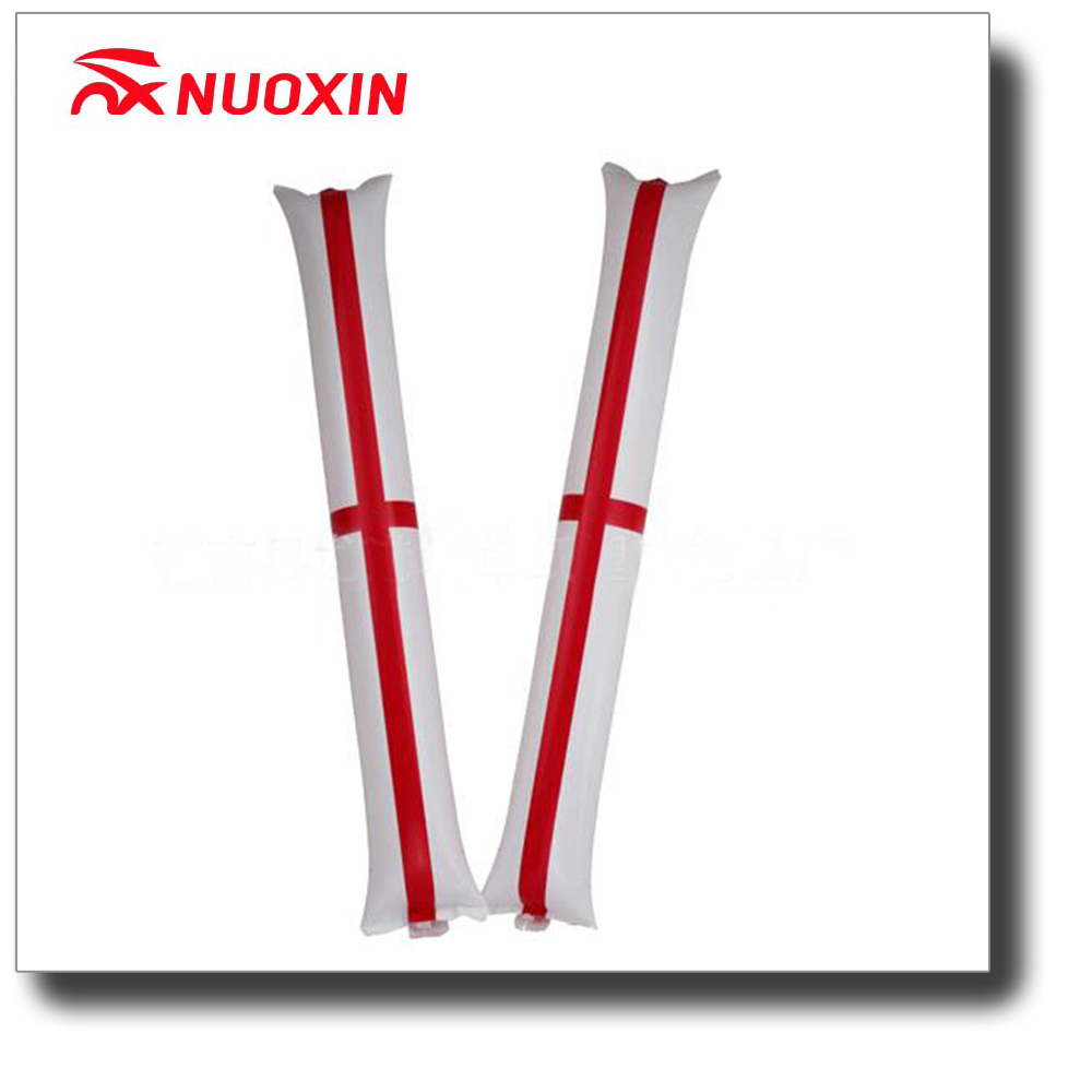 NX FLAG hot sale cheap England country flag inflatable cheering clap stick