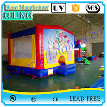 2016 QiLing toy story inflatable castle ,durable inflatable bouncer