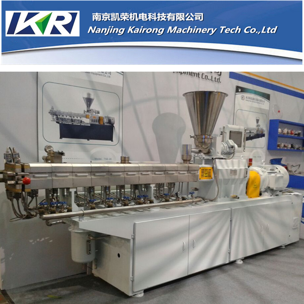 Plastic squeezing pelletizing machine/granulating plastic extruder price