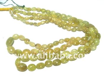 Cat's Eye Smooth Oval Semi Precious Stone Gemstone Beads