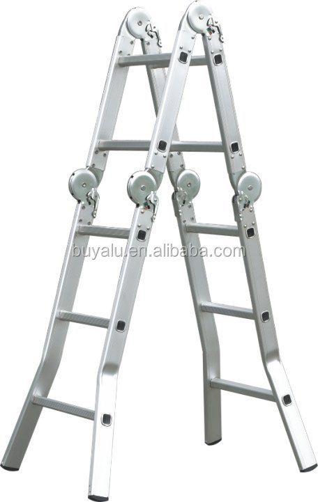 Hot Sale Multi-fonction Aluminum ladder for Home Use and Industrial