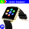 New Arrival Bluetooth Smart Watch for Smart Phone leather watch band bluetooth watch