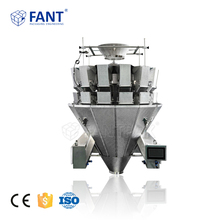 FCS-C Cheese Automatic Packaging Weigher / Multihead Combination Weighing Scale for Sticky Food