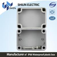 electronic abs enclosure plastic box wall mount