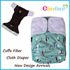 Waterproof and washable cloth baby diapers China wholesale