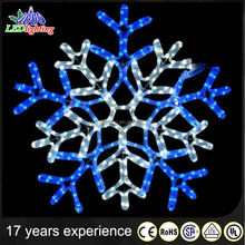 effective led snowflake christmas motif light for decoration