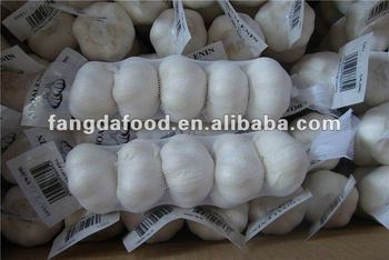 crop fresh white garlic 5P packed MOQ:1*40'FCL