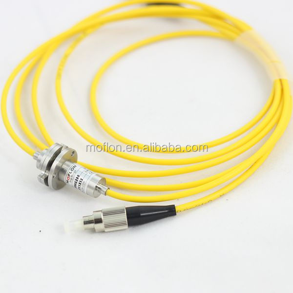 MFO100 (1 channel FORJ) fiber optic rotary joint fiber optic rose