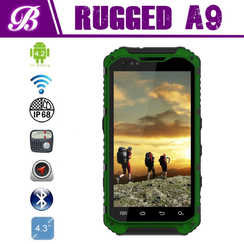 Travel rugged phone 4.3inch IP68 Quad core NFC free download china sex video oem smartphone