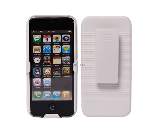 Super Slim Hard Shield Belt Clip Holster Case with Kickstand for iphone 6 / 6 Plus / 4S / 5S / 5C for ipod touch 5