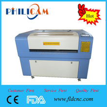 Top- rated!!! Jinan mini 6090 wood laser cutter machine