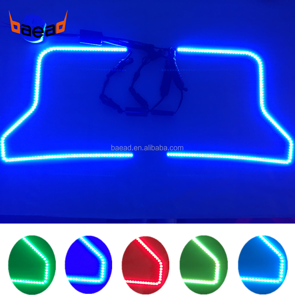 Baead SK6812 LED halo ring kits RGB dream color angel eyes for car