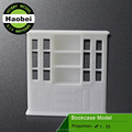 scale plastic miniature crafted model bookshelf furniture