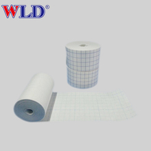 Waterproof medical non-sterile package wound dressing roll material