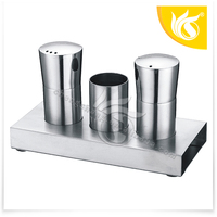 New Design Made In China Stainless Steel Salt and Pepper Set