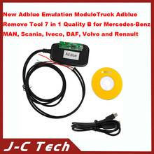 New Adblue Emulation Module/Truck Adblue Remove Tool 7 in 1 Quality B for Benz, MAN, Scania, Iveco, DAF, Volvo and Renault