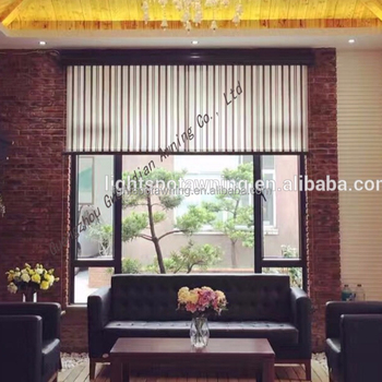 Small window vertical blinds awning