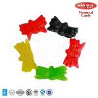 Fruit juice halal spiders candy confectionery products